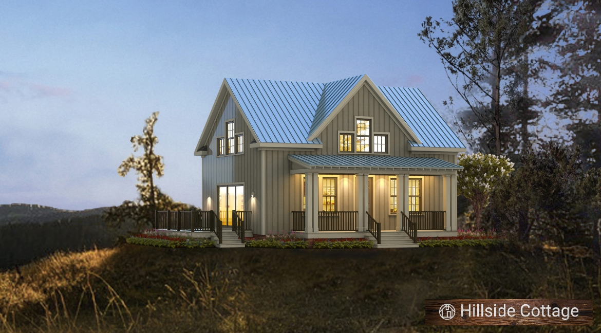Small House Plan With First Floor Master